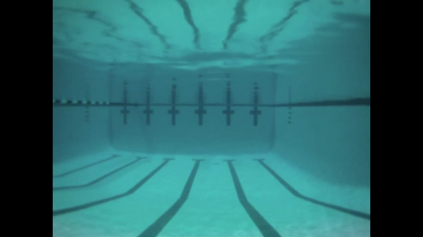 Greyson Hong, Still from Untitled (Pool), 2011, 6 minutes 14 second (looped).