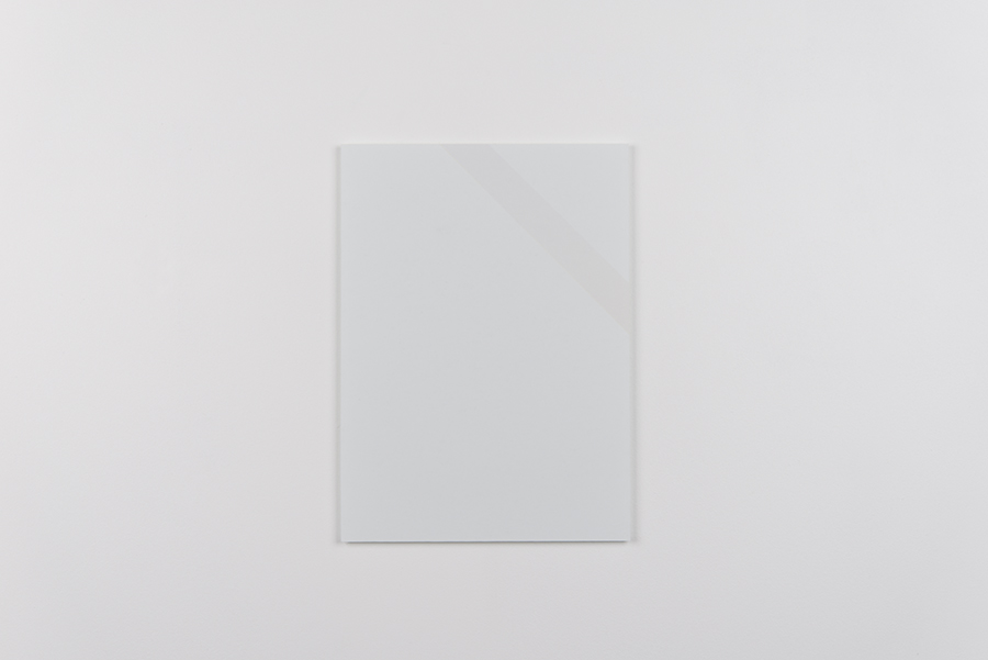 Untitled (Shortcut): Offset print mounted on Plexiglas.